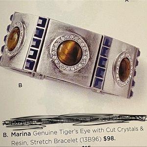 Lia Sophia Marina Tigers Eye Bracelet